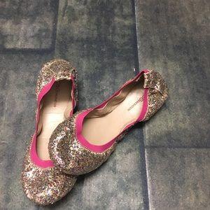BCBG Glitter ballet slipper